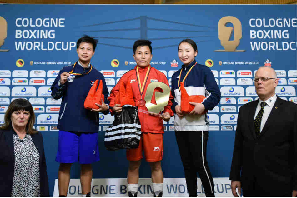 Meena Kumari bagged 54 kg gold in Cologne Boxing WC