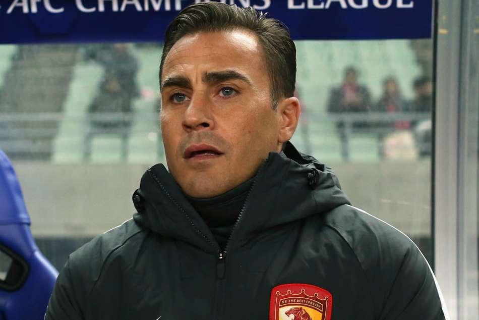 Fabio Cannavaro China Coach Guangzhou Evergrande