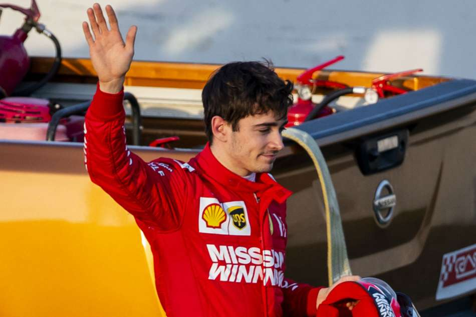 Chinese Grand Prix Young Star Leclerc Eyes Victory In F1 S 1 000th Race
