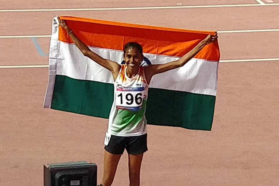 Chitra Defends 1 500m Gold India Finish Fourth