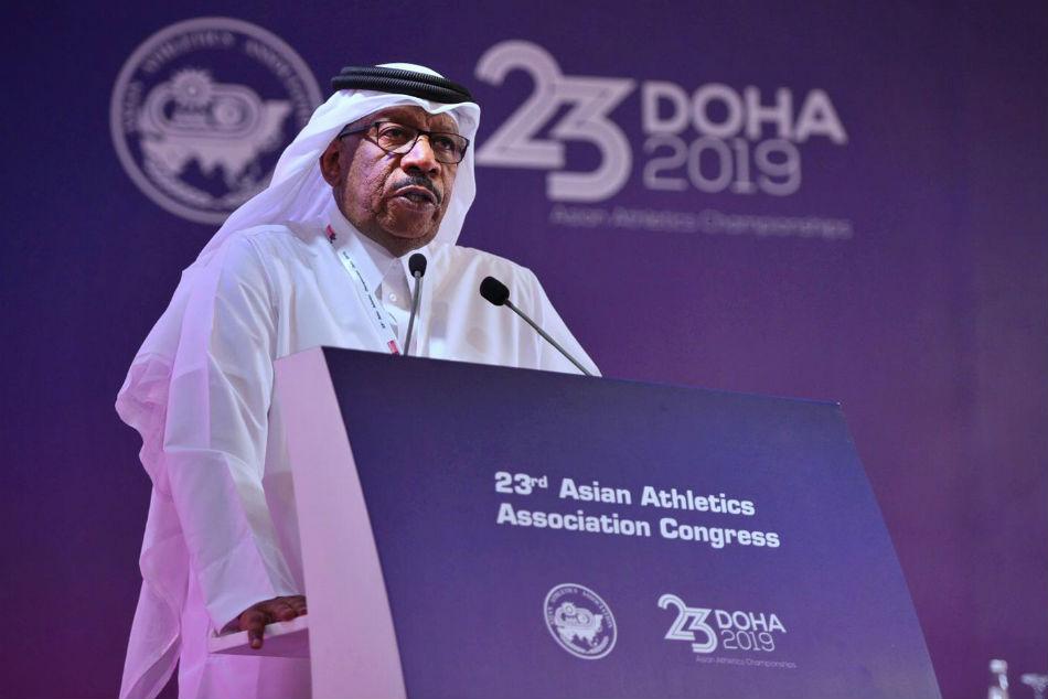Dahlan Al Hamad Re Elected As Asian Athletics Chief