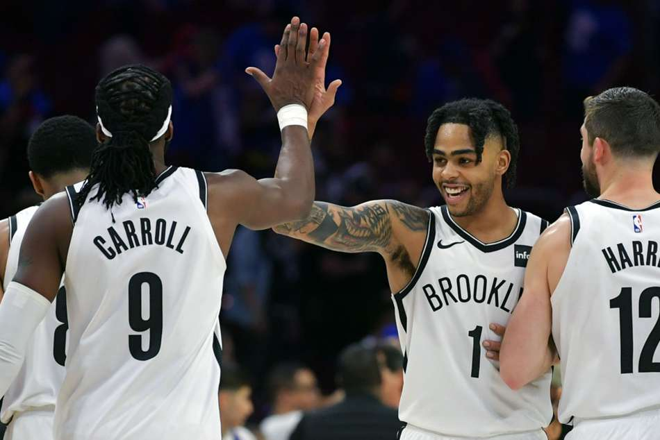 Brooklyns star point guard DAngelo Russell ended up posting a team-high 26 points