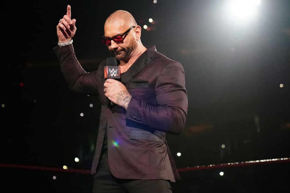 Wrestlemania 35 Dave Bautista Officially Retires From Wwe