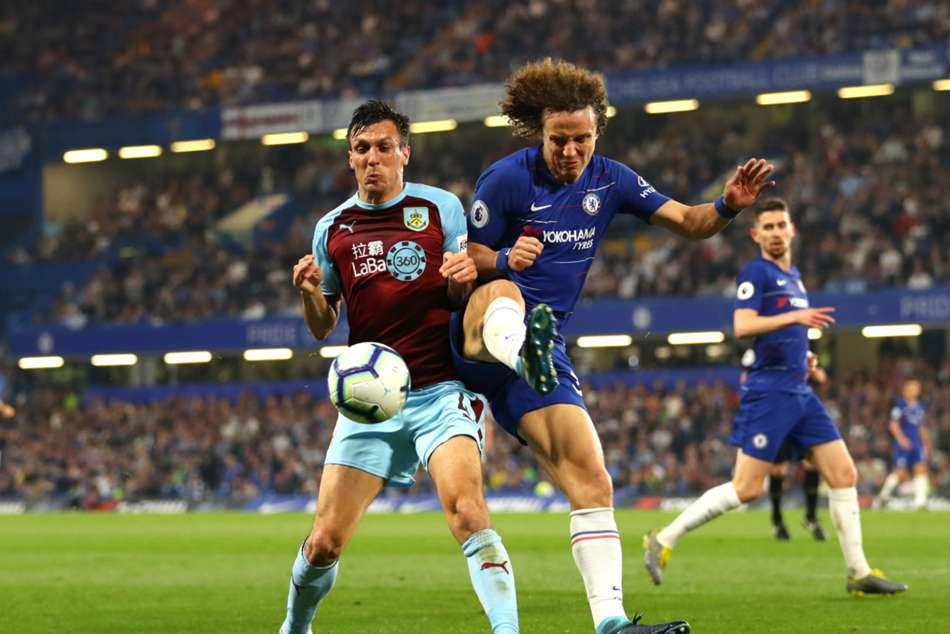 David Luiz Chelsea Accuse Burnley Anti Football Premier League