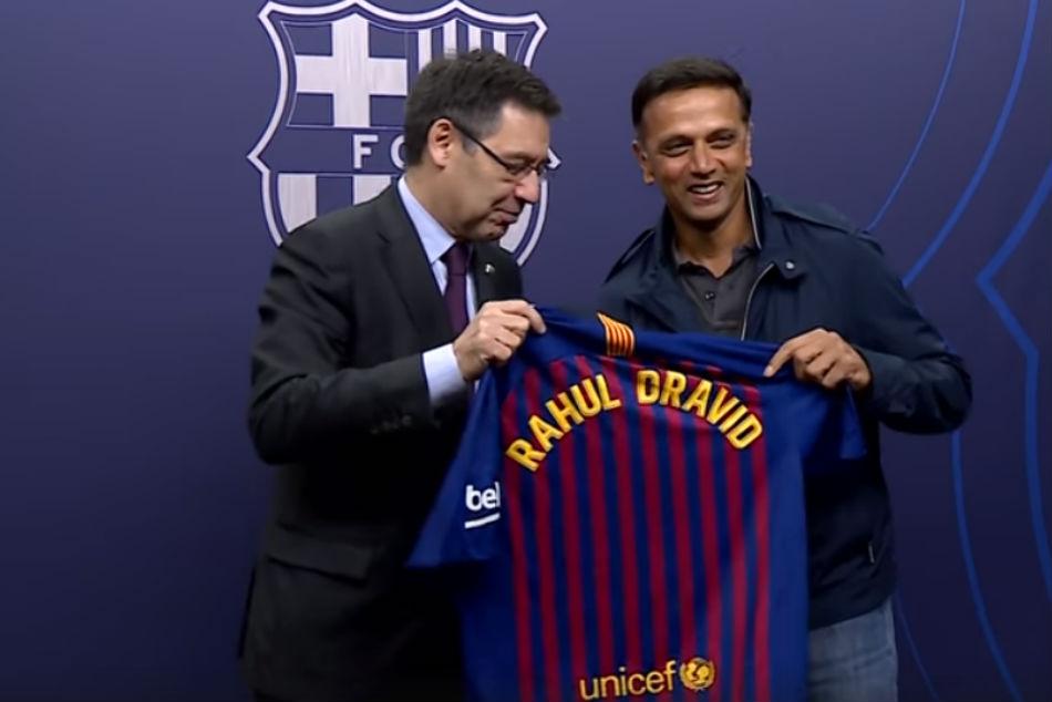Ipl Games Similar To El Clasico Of La Liga Rahul Dravid On His Visit To Camp Nou