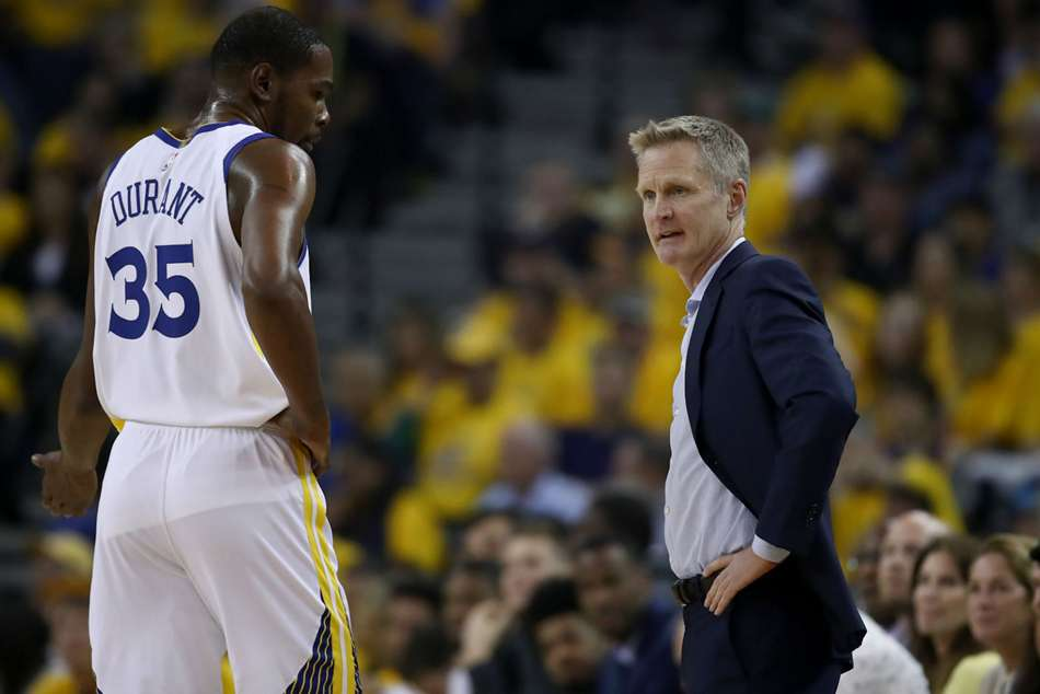 Kevin Durant endured a tough night in the Golden State Warriors loss to the Los Angeles Clippers, prompting his coach to demand more.