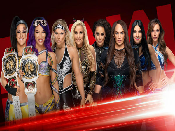 Eight-Woman Tag Team Match featuring Women's Tag Team Champions