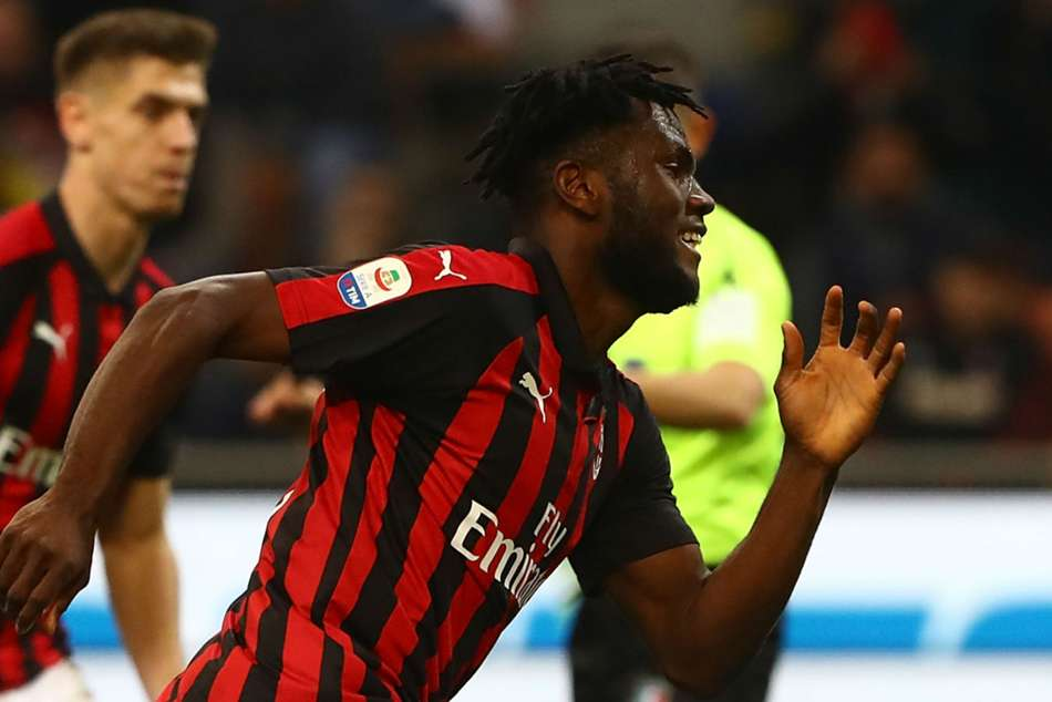 Franck Kessie dispatched a 79th-minute penalty for Milan