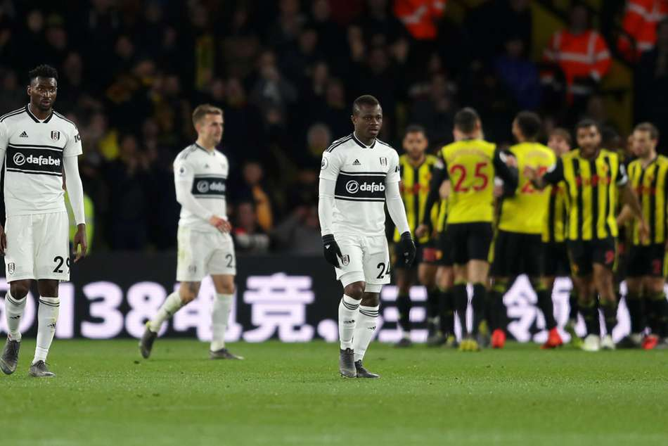 Watford 4 Fulham 1 Relegated From Premier League Championship