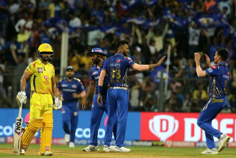 Ipl 2019 Mumbai Indians Vs Chennai Super Kings Live Updates Mumbai