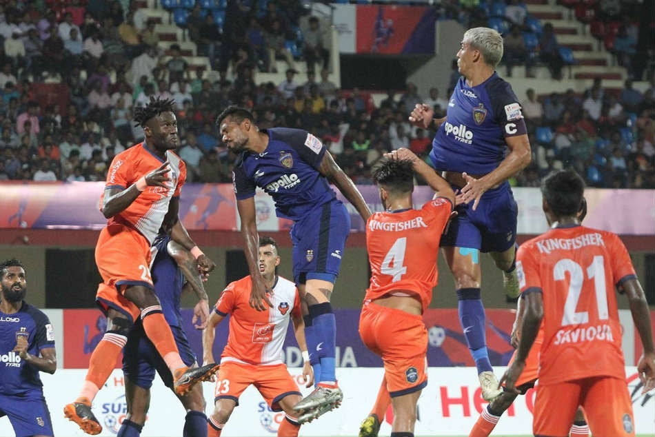 Goa overcome Chennaiyin to clinch title
