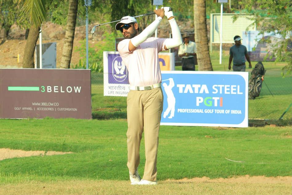 Sanjeev Kumar N Thangaraja And Jaibir Singh In Three Way Tie For Halfway Lead Pune Open
