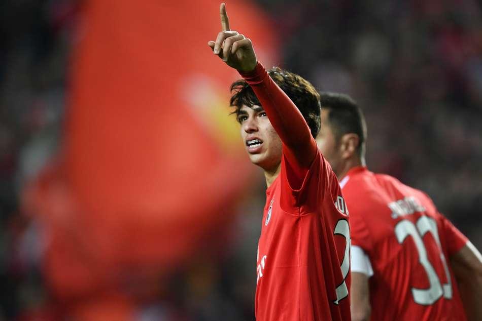Benfica Joao Felix Europa League Hat Trick