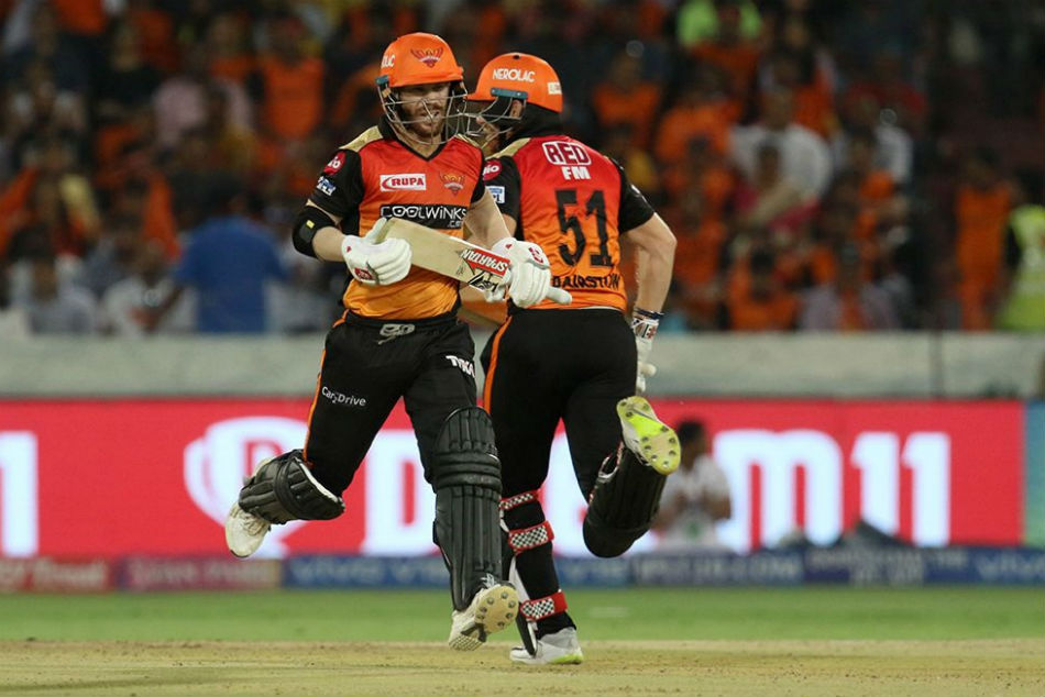 IPL 2019: SRH v KKR: Live Updates: Warner-Bairstow give Sunrisers an aggressive start in run chase
