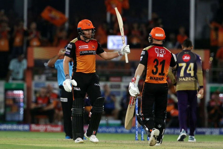 IPL 2019: SRH Vs KKR, Highlights: Warner and Bairstow dominate again as Sunrisers thrash Knight Riders