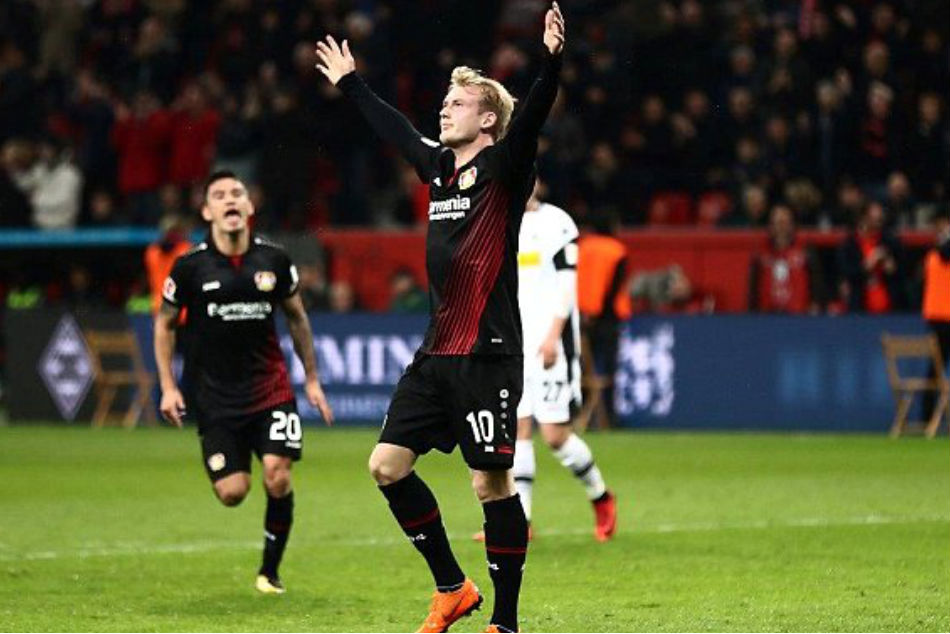 Juventus look to pay the release clause for Bayer Leverkusen youngster Julian Brandt