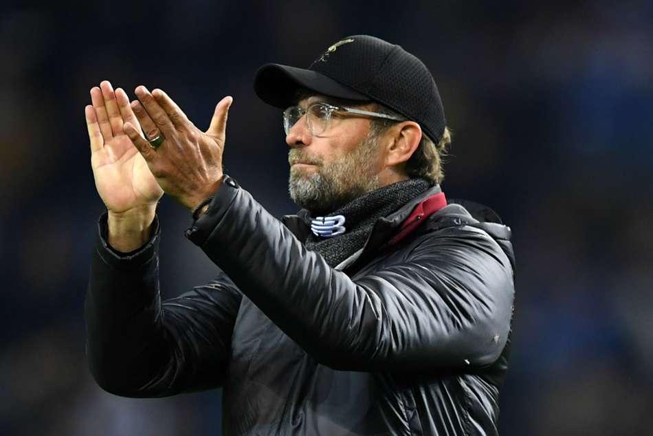 Porto Liverpool Champions League Jurgen Klopp