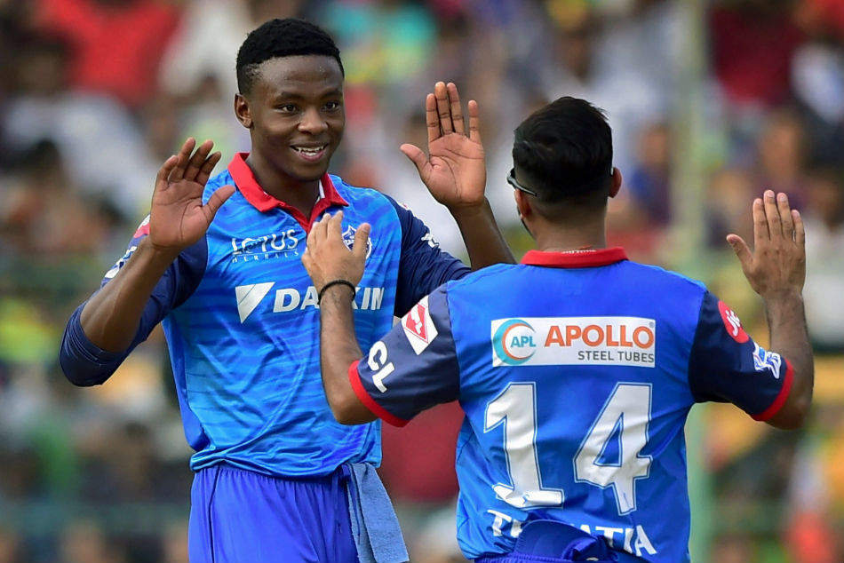 South Africa and Delhi Capitals pacer Kagiso Rabada (left) hails from a family of accomplished professionals