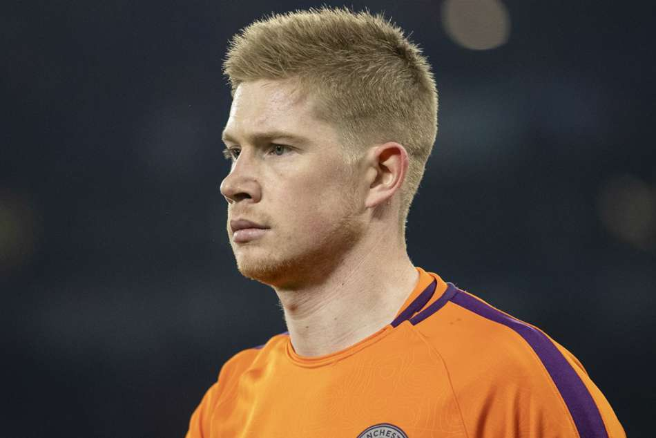 Manchester City star Kevin De Bruyne only came off the bench in the 89th minute at Tottenham Hotspur Stadium
