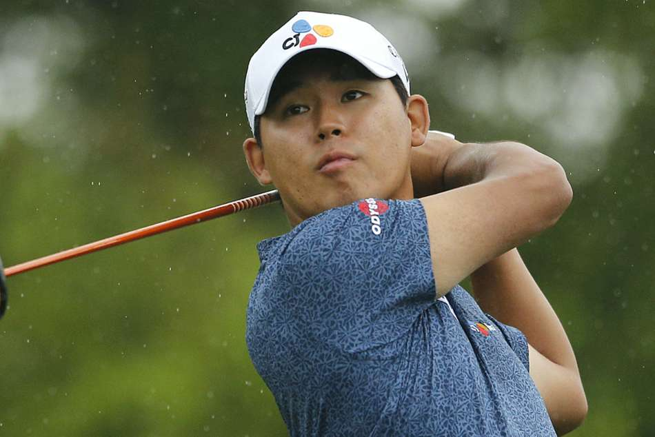 Valero Texas Open Si Woo Kim Remains In Control With One Stroke Lead
