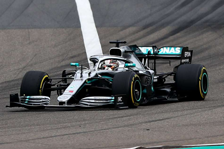 Lewis Hamilton claimed sixth win in China