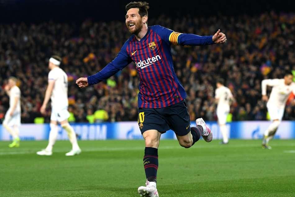 Barcelona 3 Manchester United 0 Champions League Quarter Final Second Leg