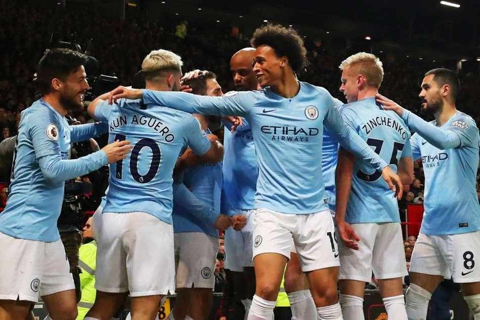 Pep Guardiola Manchester City Break Records Manchester Derby Win
