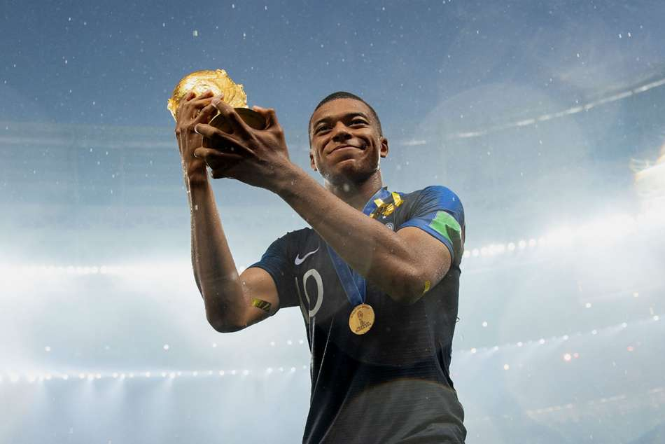 France Star Kylian Mbappe Happy To Be Behind Pele