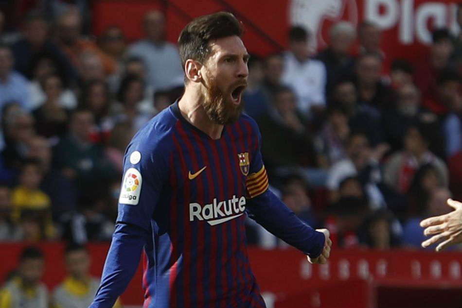 Messi Comes Off The Bench To Barcelona S Rescue