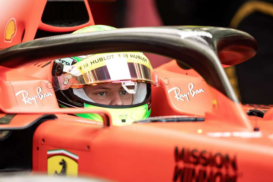 Mick Schumacher Makes F1 Debut With Ferrari Bahrain Testing