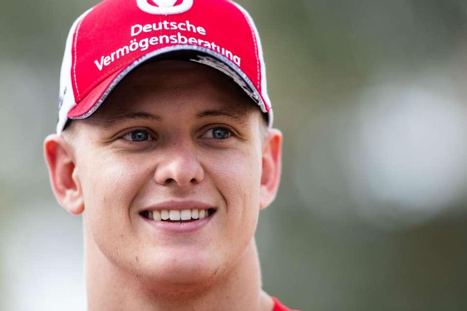 Mick Schumacher Ferrari Testing Bahrain Formula One