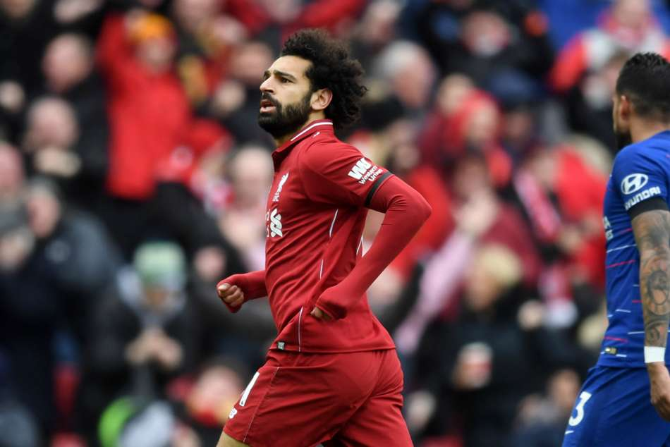 Liverpool 2 Chelsea 0 Salah Stunner Sends Reds Back To The Summit
