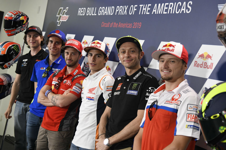Motogp Riders Saddle Up For Austin Grand Prix