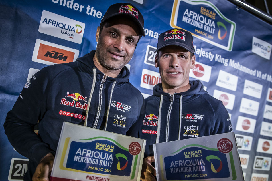 Another Challenge Another Win For Dakar Champ Al Attiyah