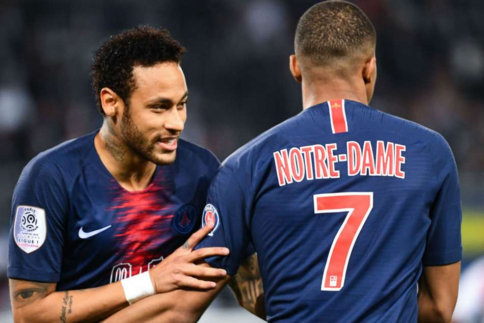 Paris Saint Germain Monaco Ligue 1 Kylian Mbappe Neymar