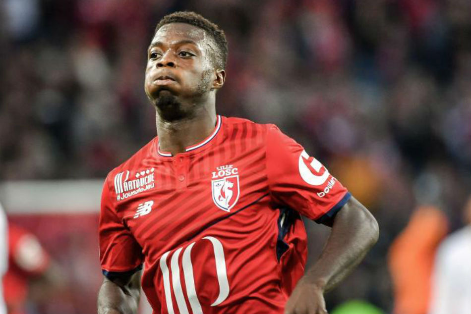 Manchester United join rivals Liverpool in race for Nicolas Pepe