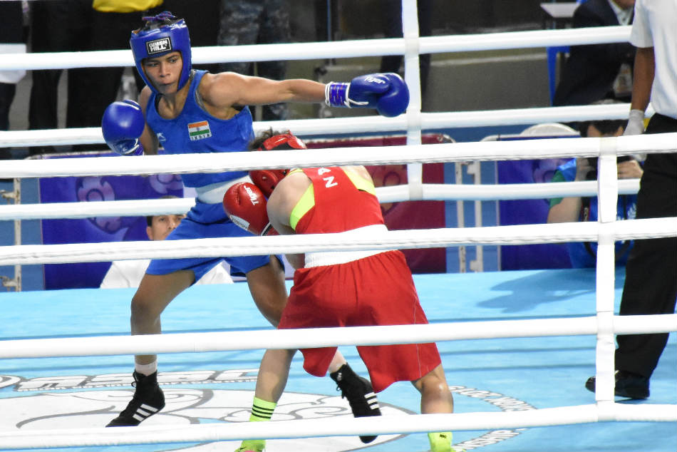 Nikhat Zareen Upsets Two Time World Champion To Enter Semi Finals Asian Boxing Championship