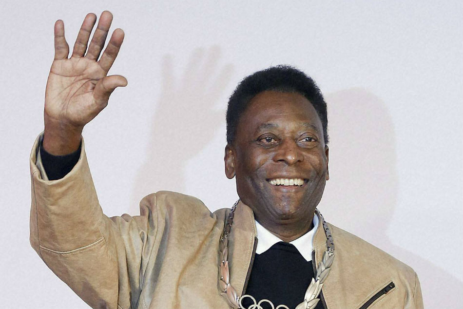 Pele Reaches Back Home In Brazil