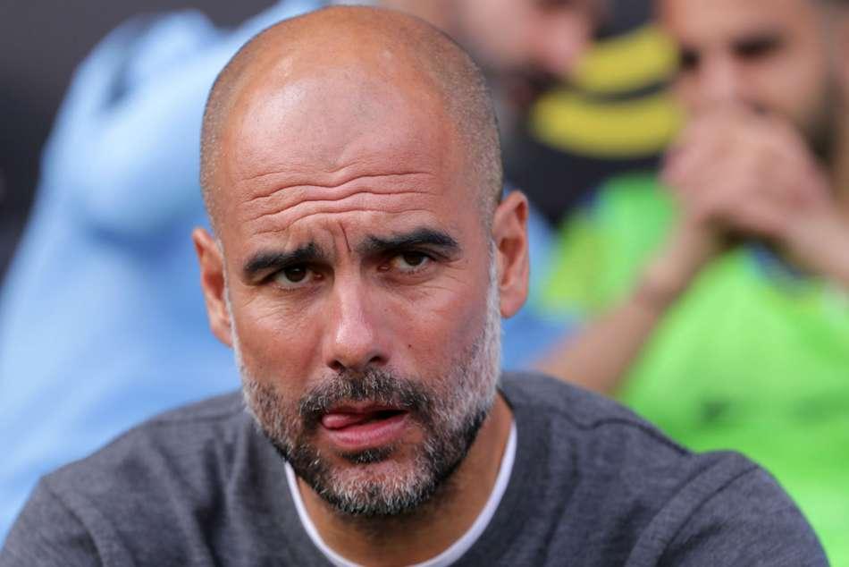 Pep Guardiola Manchester City Six Wins Premier League Champions