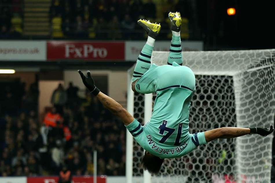 Watford 0 Arsenal 1 Foster Deeney Errors Hand Gunners Top Four Spot Premier League Match Report