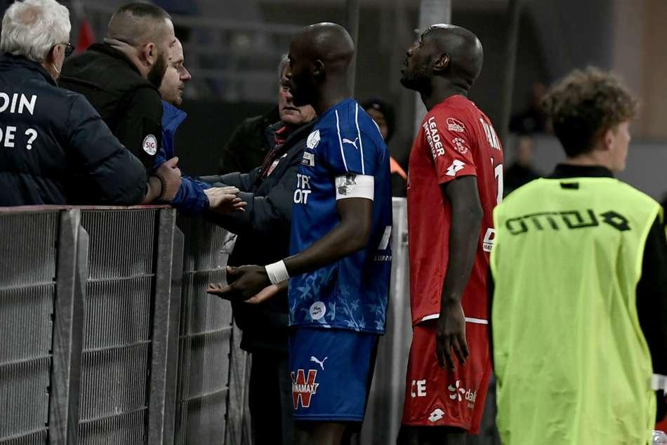 Kombouare Gouana Amiens Dijon Lfp Condemns Alleged Racial Abuse