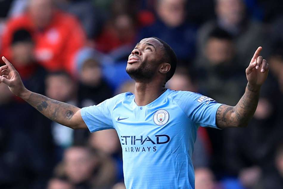 Crystal Palace 1 Manchester City 3 Raheem Sterling Sends Champions Top Premier League