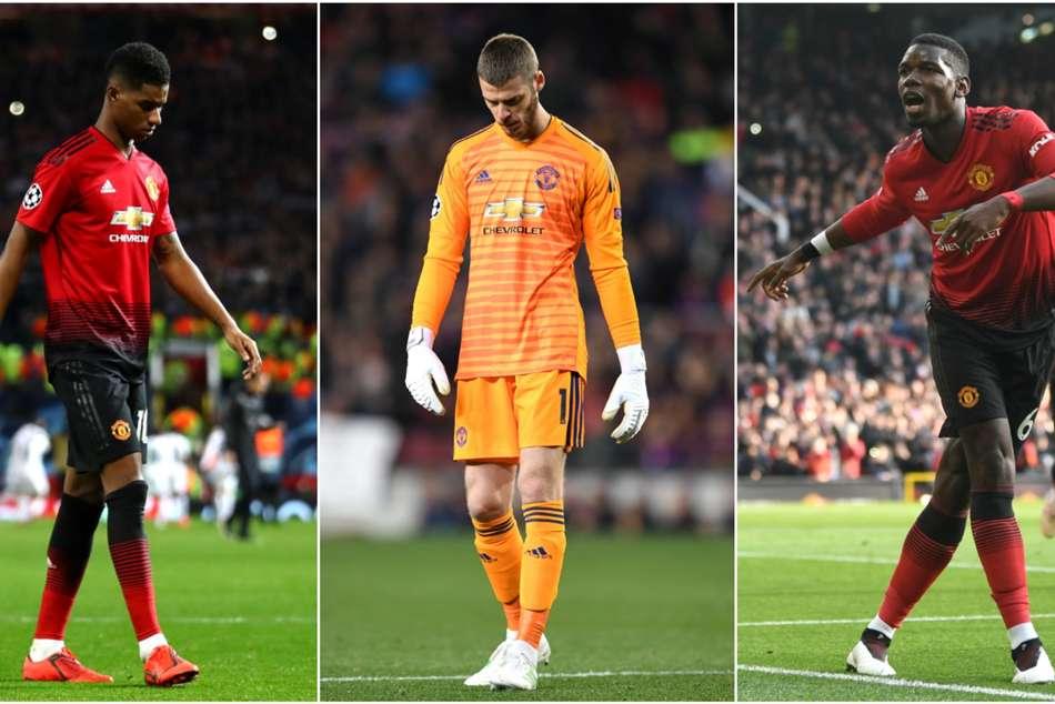 Manchester United Players Reality Check Anthony Martial Paul Pogba Marcus Rashford David De Gea