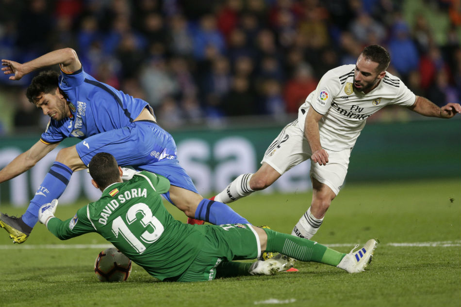 Real S Top Four Finish Hopes Suffer A Blow After Getafe Draw