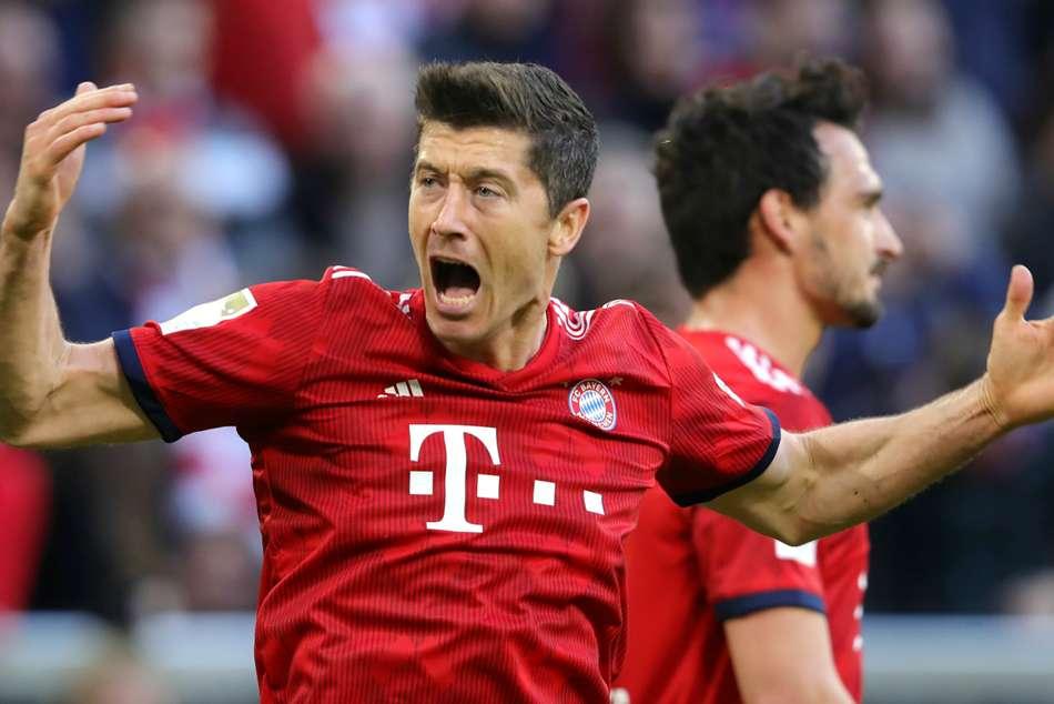 Bayern Munich 5 Borussia Dortmund 0 Lewandowski Double Leads Der Klassiker Demolition