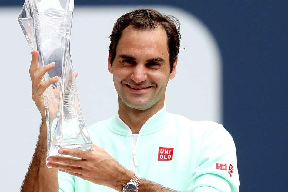 Miami Open Roger Federer Reaction Final Win John Isner