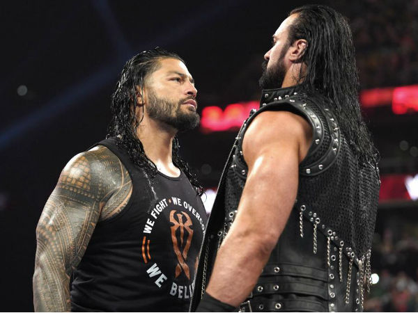 Will Roman Reigns hit back at Drew McIntyre before Wrestlemania?