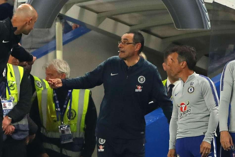 Chelsea Gianfranco Zola Report Burnley Maurizio Sarri Offended Premier League