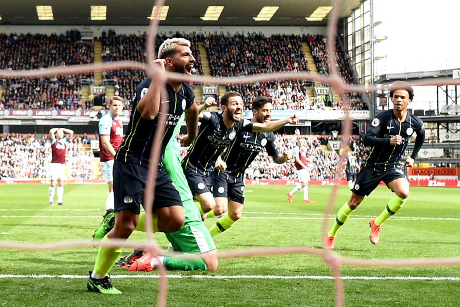 Burnley 0 Manchester City 1 Aguero Keeps Title Defence Premier League Match Report