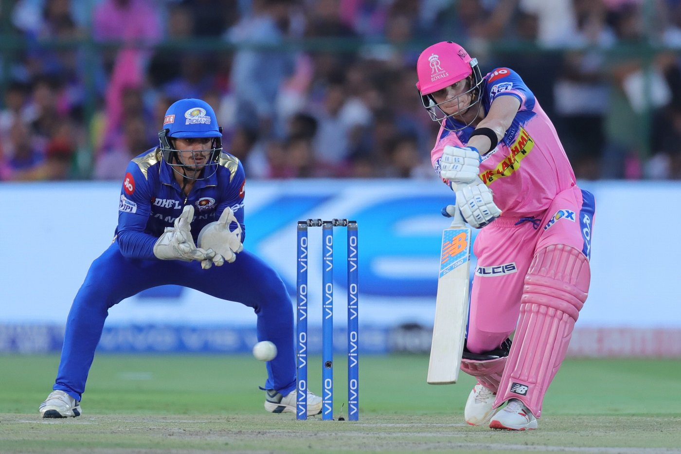 Steve Smith Fifty Ipl Rajasthan Royals Mumbai Indians